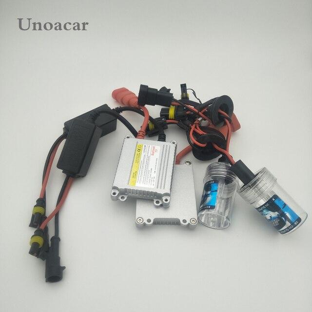 Conjunto 1 55 H7 h4 9005 w Xenon HID Kit Xenon Lâmpada Do Carro Lâmpada 4300 k 6000 k 8000 k 10000 k 120000 k Digital Lastro para Farol Do Carro DC 12 v