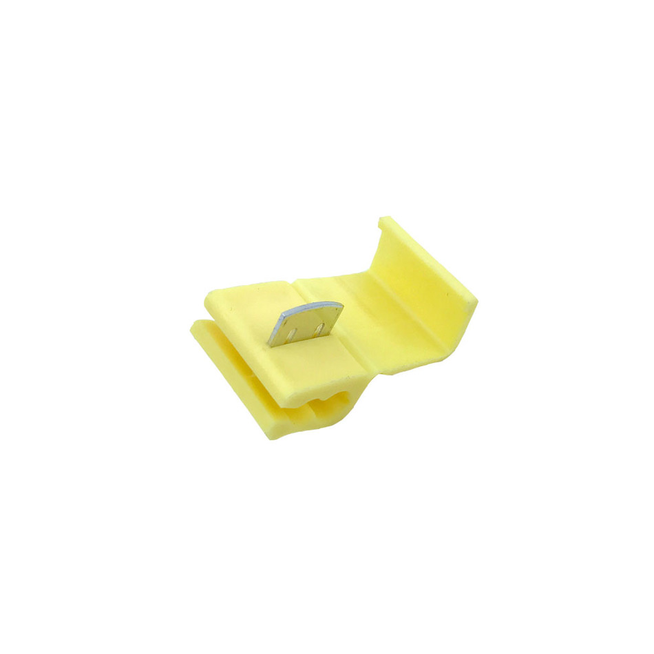 Scotch Lock Quick Splice Connectors Terminals Yellow 50PCS Or 100PCS Wire Electrical Cable Crimp For 18-14 AWG