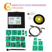 Xprogm XPROG M V5.84 ECU Программист X-PROG-m с USB донгл чип Тюнинг инструмент