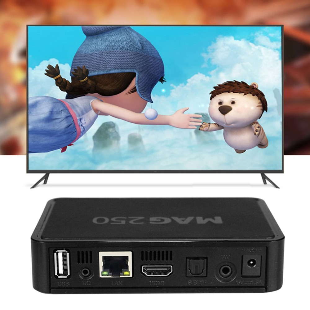 Set Top Box Portable Size Full HD WIFI USB Adapter IPTV Box Media Player With 1 Year IUDTV IPTV Account TV Box Linux System