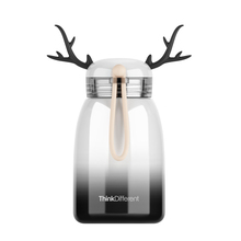 320ML Cute Girl Gradient Creative Cartoon Deer Thermos Vacuum Flasks  Water Bottle Stainless Steel Insulated Thermoses Cups