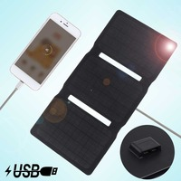 Soshine IC chip Solar Charger 20W Solar Panel with USB Port Waterproof Foldable Camping Travel Charger for iPhone iPad Galaxy