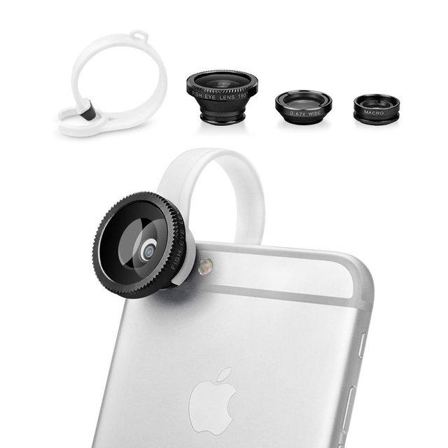 3 in 1 Lens Kit Universal Clip Ring