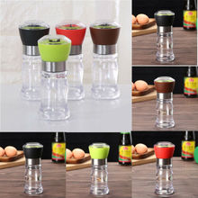 2019 New Home Kitchen High Quality Manual Stainless Steel Salt Pepper Mill Grinder Muller