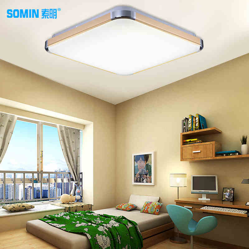 LED suction dome light rectangle simple modern atmosphere fashion living room lamp bedroom lamp art lighting led suction dome light fashion cartoon study bedroom children s room lights