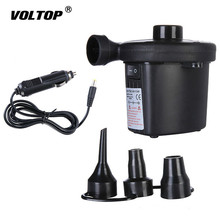 Car Tyre Compressor Inflatable Pump 12V Air Tire Pump Camping for Car Boat Blower Electric car tire inflator pump cigarette lighter electric 12v car air compressor led light tyre inflatable pumps for outdoor travel boat