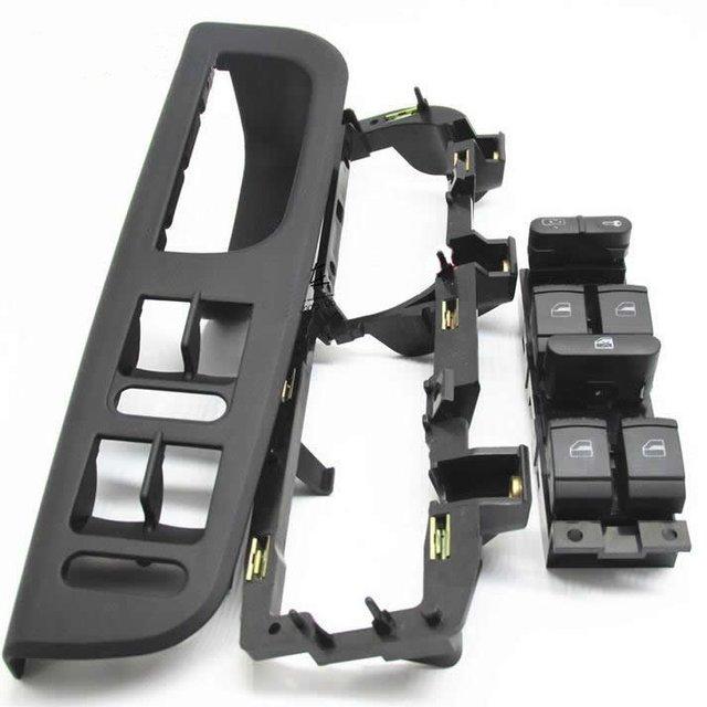3 pcs fit para volkswagen vw passat b5/bora/glof 4 unidade ligação levantador interruptor base de caixa de braço