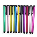 10Pcs Mixed Stylus Screen Pen For All Touch Samsung iPad iPhone 4 4S 5 5S