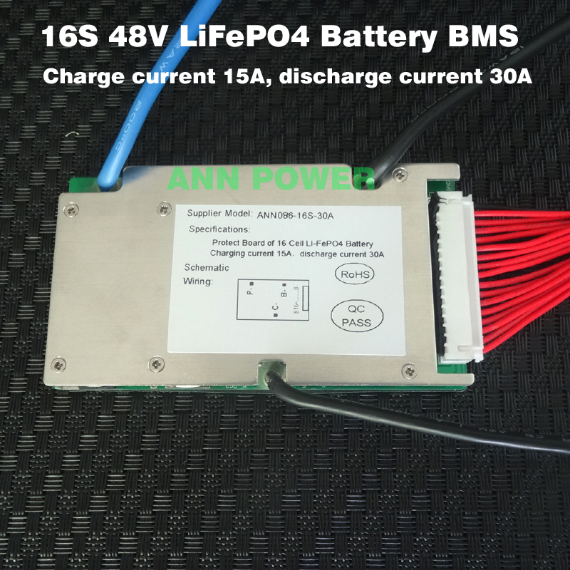 Programmable Lifepo4 Bms