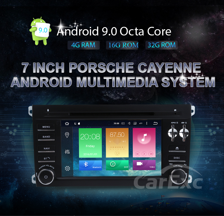 Clearance Android 9.0 Octa Core  Car DVD Player Stereo System For Porsche Cayenne With Canbus Wifi GPS Navigation Radio Carplay 14