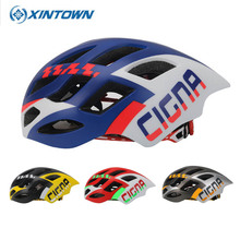 XINTOWN Professional Road Bike Cycling Helmet Men Women Bicycle Integrally-molded Ultralight EPS Sport Helmet Casco Ciclismo