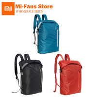 Xiaomi 90 حقائب الموضة متعدد الوظائف 20l نايلون نسيج الرياضة الترفيه حقيبة رجل إمرأة حقيبة الظهر السفر مصغرة