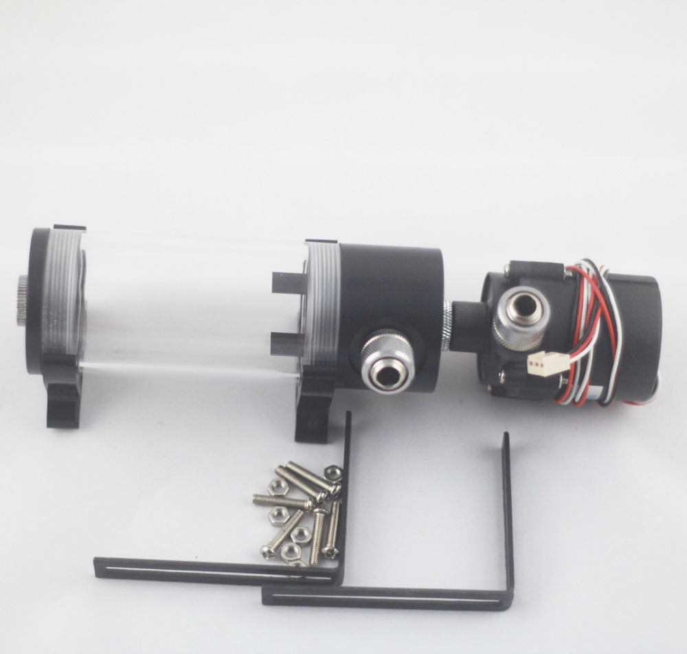 240mm cylinder water tank SC600B pump all in one set Maximum flow 500L H computer water