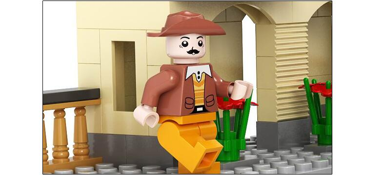 Ausini Educational Hobbies Toys for Kids building block set compatible with lego transportation train 3D Construction 002