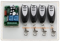 JRKEJEE Learning Code AC220V 2 CH RF Wireless Remote Control Switch 4 Transmitter 1 Receiver 315mhz