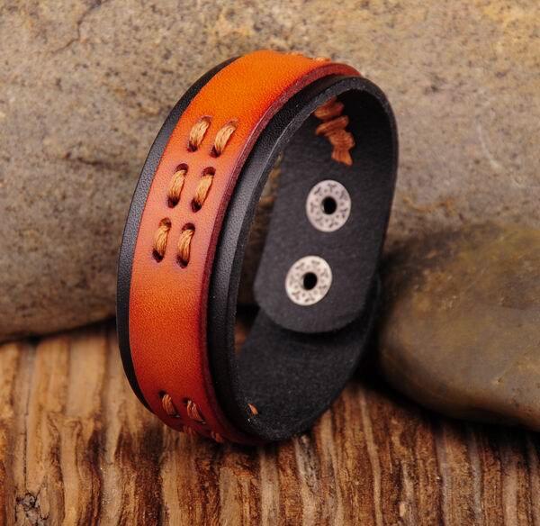 Unparteiisch G424 Brown Klassische Heißer Vintage Hanf Leder Armband Manschette Armband Neue NüTzlich FüR äTherisches Medulla Schmuck & Zubehör