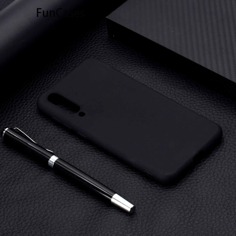 Red Silicon Cases For capa Xiaomi 8 Soft TPU Protector sFor Capa Xiaomi A1 A2 5X 6 6X Lite SE 9 Mix 2 3 Pocophone F1 Capinha