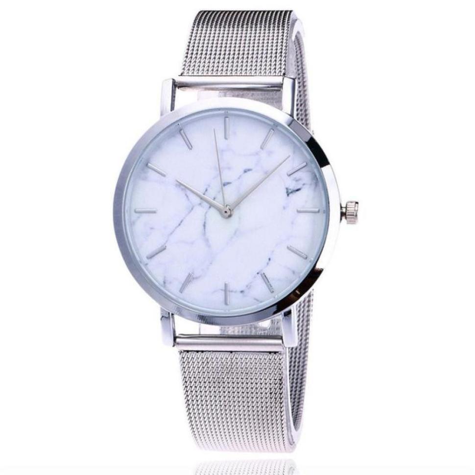 2018 Sprzedaż moda zegarki damskie zegarki różowe złoto Casual - Zegarki damskie - Zdjęcie 3