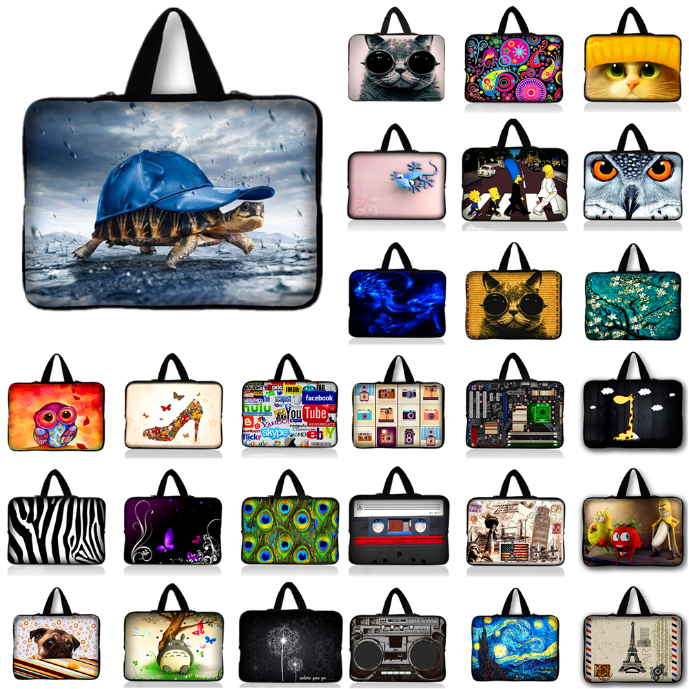 Neoprene Laptop Sleeve Case Bag Cover Pouch For 10 12 13 14 15 17 Notebook For Macbook A ...