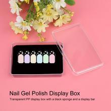 Display Nail Art Box Promotion Shop for Promotional Display Nail Art