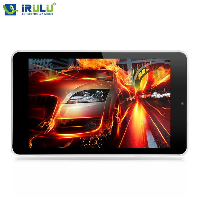 Irulu 7 pulgadas lillipop x4 google tablet pc quad core android 5.1 16 gb bluetooth allwinner a33 arm cortex-a7 1.3 ghz 4000 mah de la tableta
