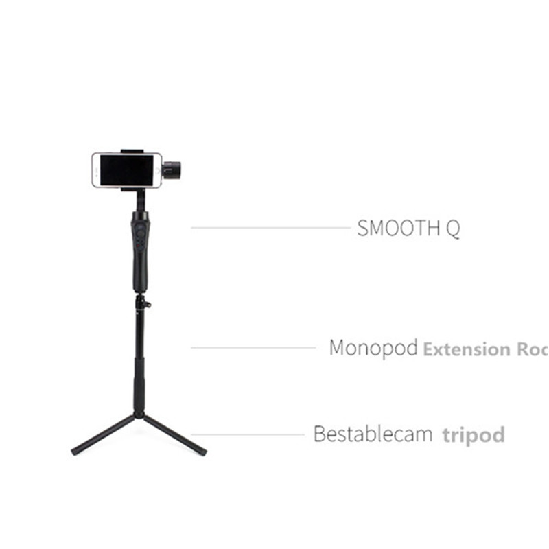 Aluminum Alloy Extension pole Bar Telescopic Rod for Zhiyun Smooth Q 3/4 SPG DJI Osmo mobile 1/2 Handheld Gimbal Accessories 16