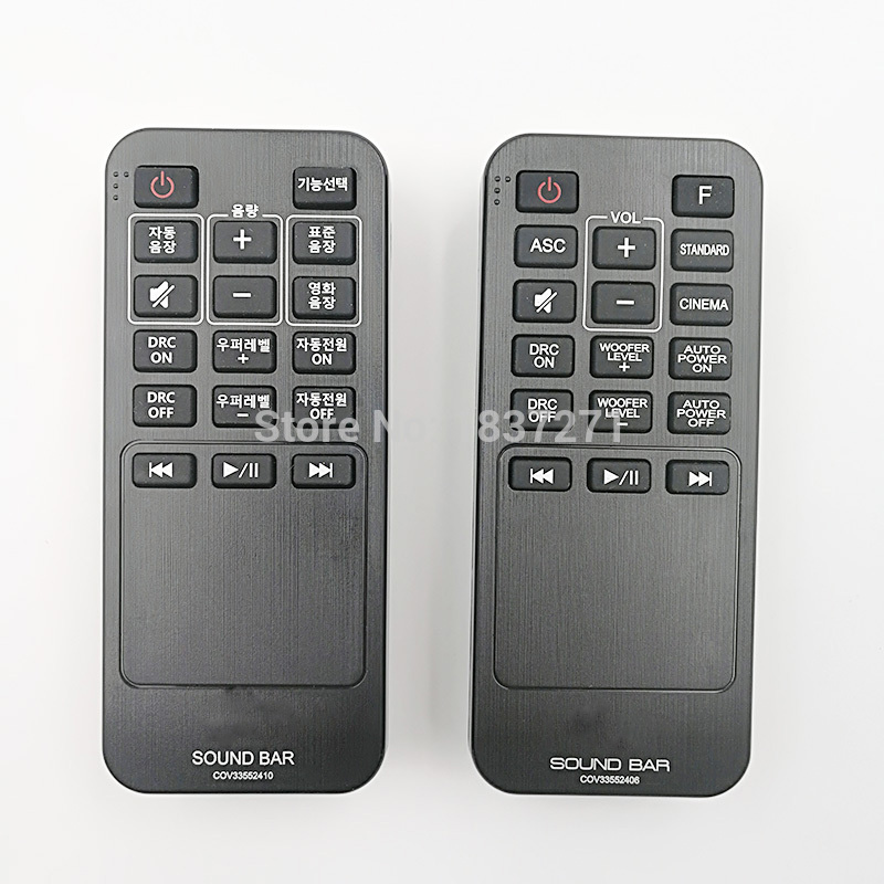 new original remote control cov33552406 cov33552410 for lg. Black Bedroom Furniture Sets. Home Design Ideas