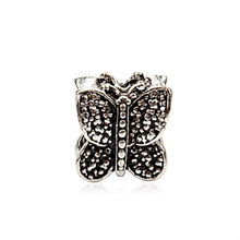 New Retro Butterfly DIY Jewelry Charms Bead Fit Pandoraa Bracelet & Necklaces Pendant Authentic Beads Jewelry Making Women Gifts(China)