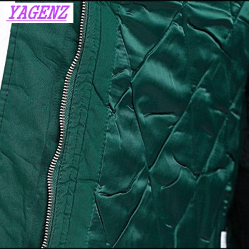 Женский зимний пуховик для среднего возраста, хлопковая куртка большого размера, Женская свободная длинная хлопковая верхняя одежда, высок... - 6