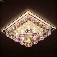 Modern Lustre Crystal Led Chandeliers Lighting Corridor Led Ceiling Chandelier Lamp Porch Led Lights Fixture Downlights For Hall