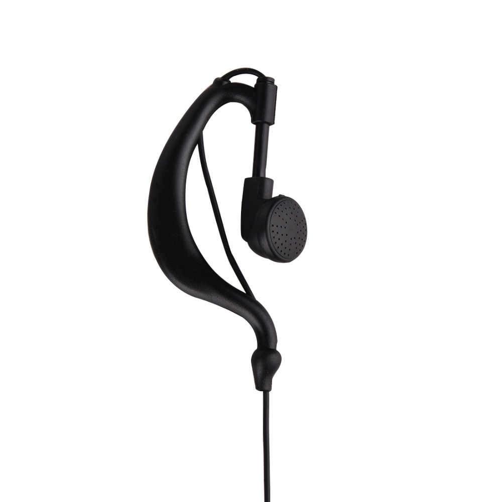 Akoestische Buis PTT Mic Oortelefoon Walkie Talkie Headset Voor Kenwood Baofeng Bf-888s UV5R UV-82 Retevis RT22 H777 P15