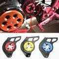 Nueva marca de 3 colores cnc motocicletas: piezas del motor piñón cadena cubierta de la caja guardia protección para honda msx125 grom 2014-2015