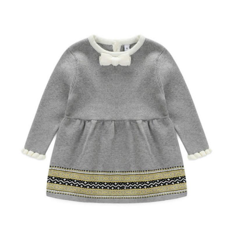 2017 Ny tjej prinsessa klänningar för höst och vår, flickor - Babykläder