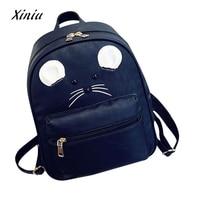 Messenger Womens Handbags Bag PU Leather Fashion Zipper Girls Backpack Leisure School Bag Travel Pack Backpacks