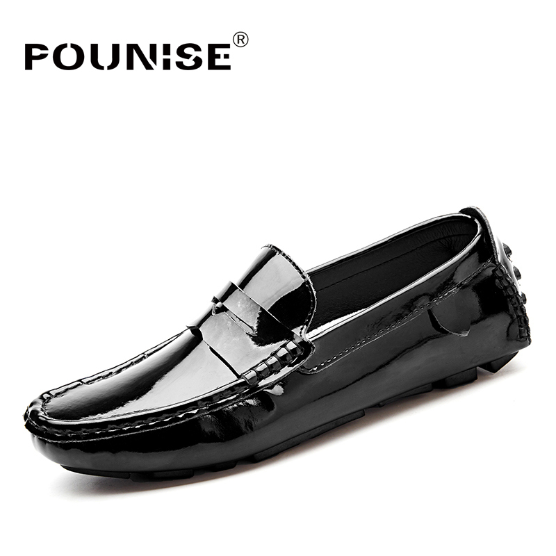 Brand New Fashion Summer Spring Men Driving Shoes Loafers Pu Leather Boat Shoes Breathable Male Casual Flats Loafers big size 2016 new style summer casual men shoes top brand fashion breathable flats nice leather soft shoes for men hot selling driving