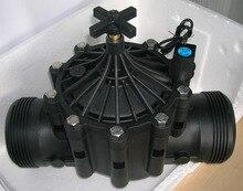 irrigation system Agriculture plastic irrigation solenoid valves 100mm