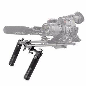 Image 5 - SmallRig Camera Hand Grip Handles for Dslr 15mm Shoulder Rig System Dslr Cameras Follow Focus   0998
