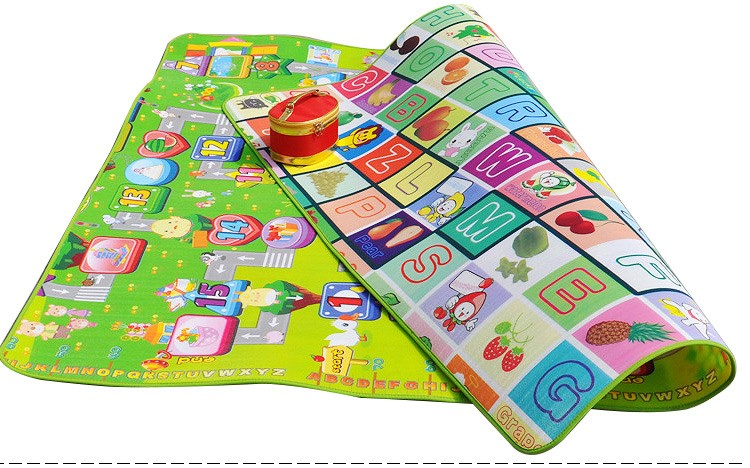 Tapete Infantil Baby Crawling Mat 2m1.6m0.5CM Both Sides Baby Toy Eva Play Mat Carpet Child Game Pad Mats For Children  (2)