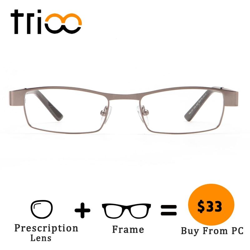 Männer c4 Progressive Platz Trioo Transparent Minus Brillen Kurzsichtig Männlich c3 Hohe Für C1 Metall Qualität Optische c2 wPagqY