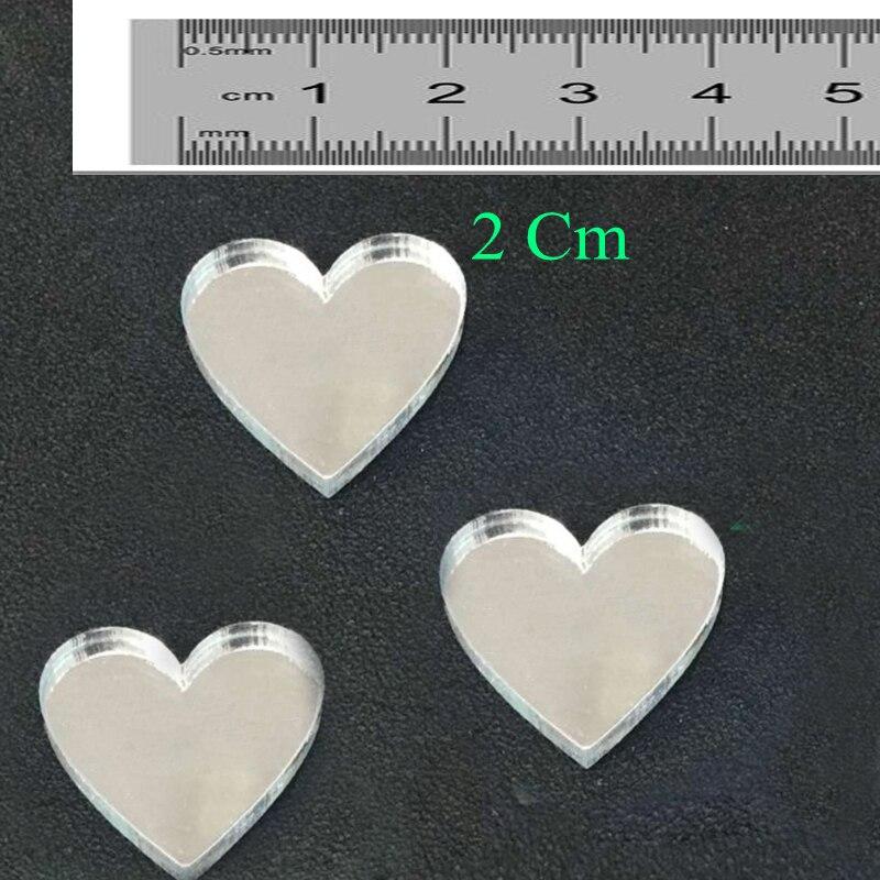 60 piezas personalizadas grabadas Mini Love Heart Wedding Table - Para fiestas y celebraciones - foto 4
