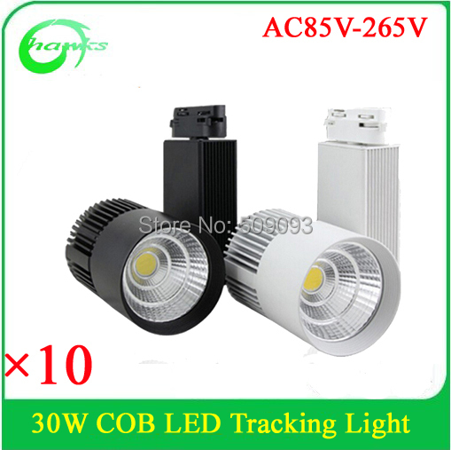 Showroom/Clothing Store/Commercial Lighting LED  track lighting 30w adjustable led cob track light