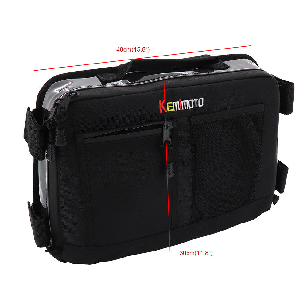 Image 5 - KEMiMOTO Overhead Storage Bag For Can Am Maverick X3 UTV Bag Over head Roof tent Bag-in ATV Parts & Accessories from Automobiles & Motorcycles