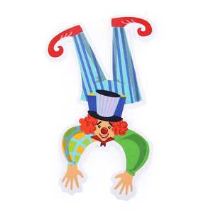 Toy-Material DIY Production Package Educational-Science Random-Color Children's Clown