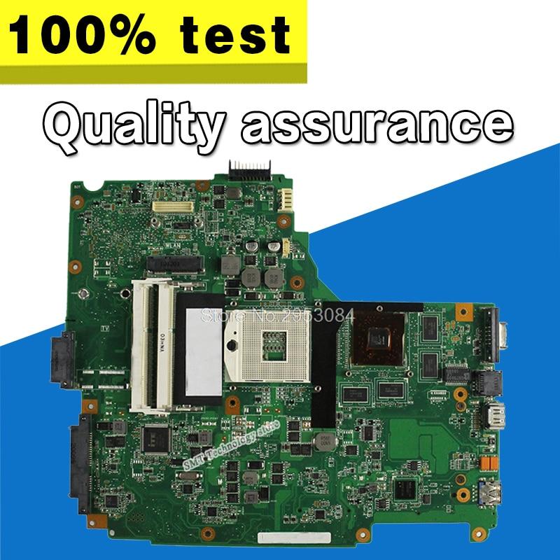 for ASUS N61JQ laptop motherboard mainboard N61JQ N61JA I7 cpu board 100% Tested Guaranteed S-4 цена