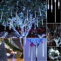 ITimo 8pcs Set 50CM Meteor Shower String Lamp Waterproof Christmas Party Holiday Lighting Tree Decor Rain