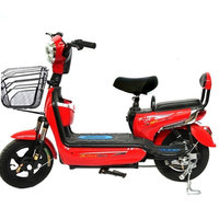 14 inch Adult Electric Bike Lasting Battery 48V Voltage Two wheeled Manned Electric Bicycle Motorcycle