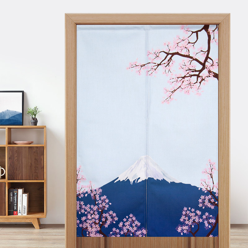 Japanese Partition Soor Curtain Bedroom Kitchen Decoration Curtain Toilet Feng Shui Curtain Half Curtain Noren