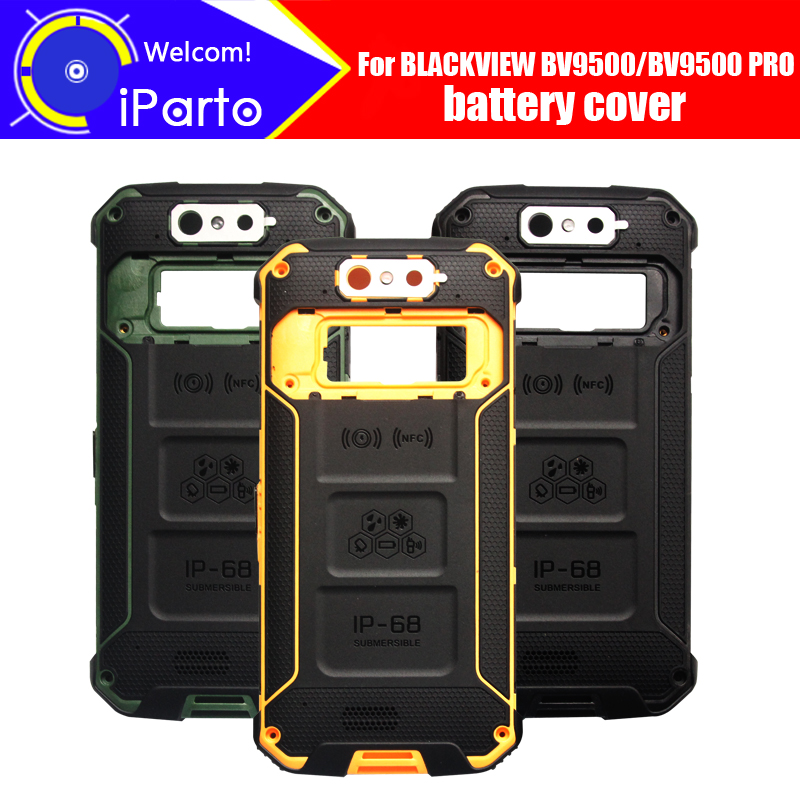 5.7 inch BLACKVIEW BV9500 Battery Cover 100% Original New Durable Back Case Mobile Phone Accessory for BLACKVIEW BV9500 PRO