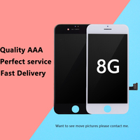 5Pcs Lot 3D Touch Grade AAA For Tianma Top Quality For IPhone 8 LCD 4 7