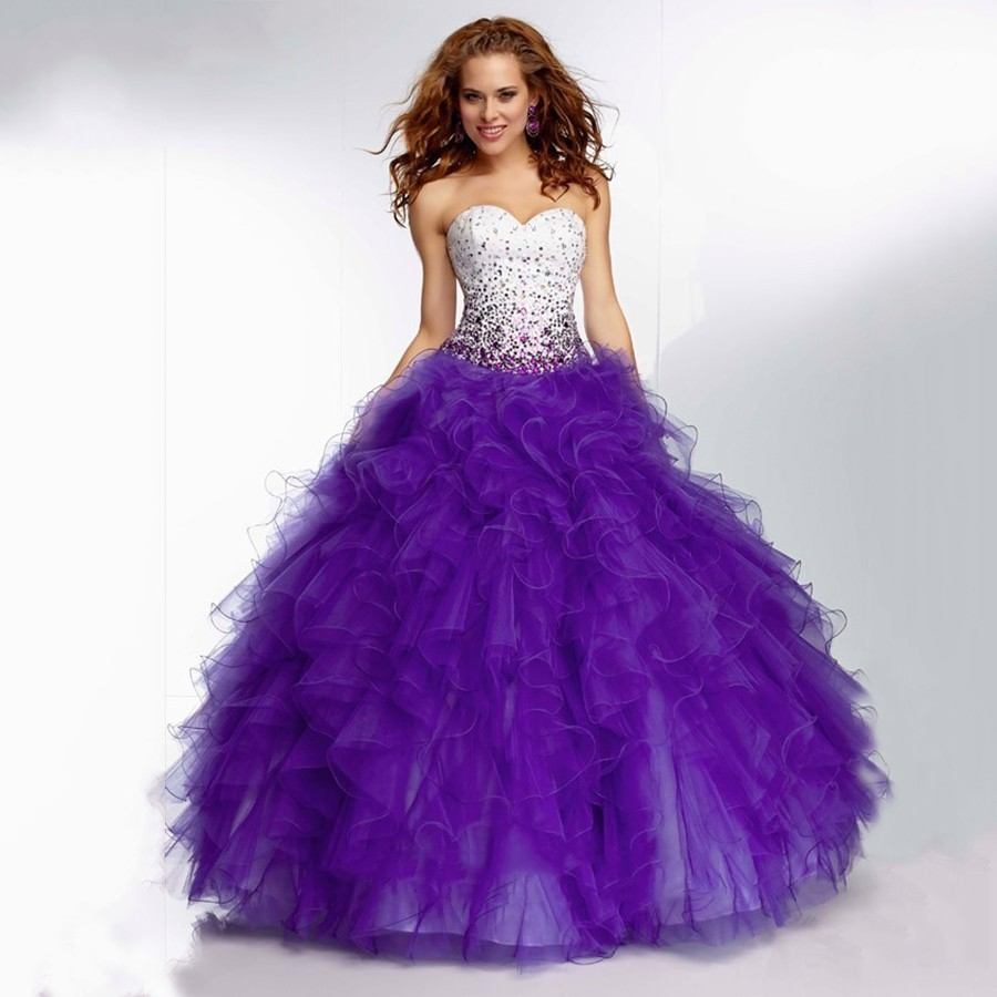 Compare Prices on Purple Ball Gowns for Teens- Online Shopping/Buy ...